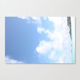 Beach in Hawaii 3 Canvas Print