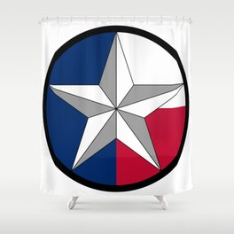 Texas Lone Star Shower Curtain