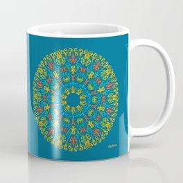 Bienvenida a Marte (Azul) Coffee Mug