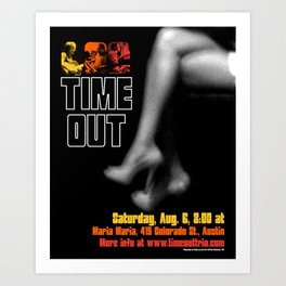 TIME OUT, MARIA MARIA (3) - AUSTIN, TX Art Print