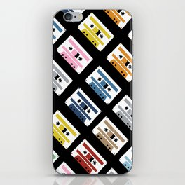Rainbow Tapes 45 iPhone Skin