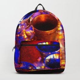 Silver Goblets, Candlelight Backpack