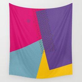 Colorblock - geometric minimal Wall Tapestry