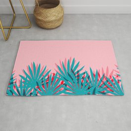 Whoa - palm sunrise southwest california palm beach sun city los angeles retro palm springs resort  Rug