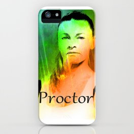PROCTOR iPhone Case