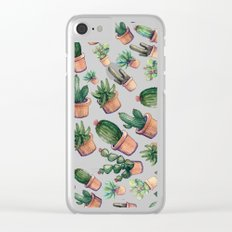 cactus big invasion!! Clear iPhone Case