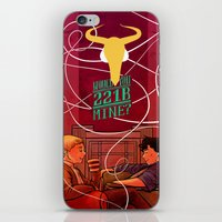 221b iPhone & iPod Skins featuring Would you 221B Mine? by Zenyr