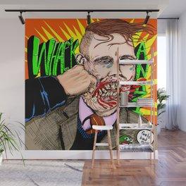 Whack Hate Wall Mural