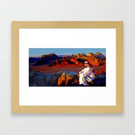 Bedouin #1 Framed Art Print