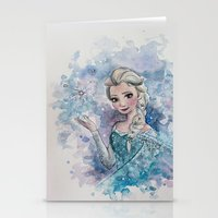 elsa Stationery Cards featuring Elsa by Sallygipsypunk