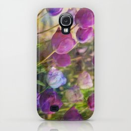 Lavender Flora  iPhone Case