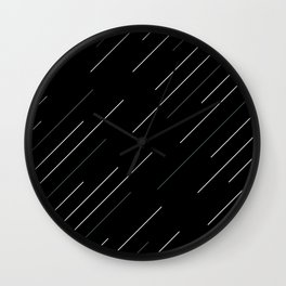 Go in to the dark Wall Clock