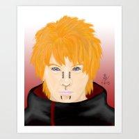 Pein/Pain Leader of the Akatsuki Art Print
