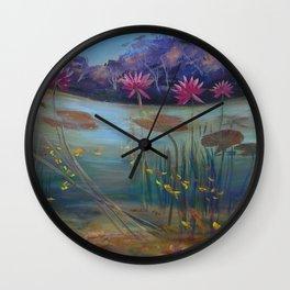 Fish eye view Wall Clock