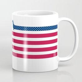 Patriotic Dachshund Coffee Mug