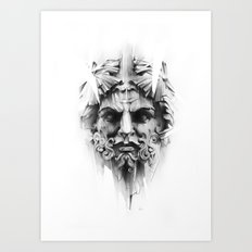 King Of Diamonds Art Print