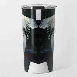 Untitled (Painted Composition 8) Travel Mug