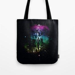 time traveller v2 Tote Bag