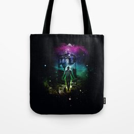 time traveller v2 Tote Bag