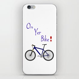 On Yer Bike iPhone Skin