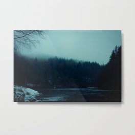 Dalmarnock Fishings Metal Print