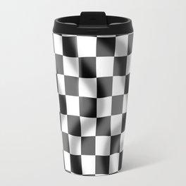 Chequered Flag Slight Ripple Travel Mug