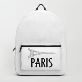 Paris Eiffel Tower Backpack