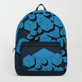 3D Futuristic Cubes VIII Backpack