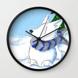 Snowpack Wall Clock