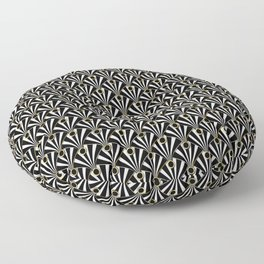 Art Deco Floor Pillow