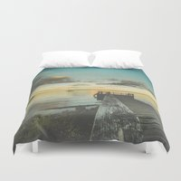 alice wonderland Duvet Covers featuring Dating Alice in wonderland by HappyMelvin
