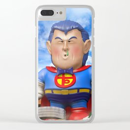 Suppaman Clear iPhone Case