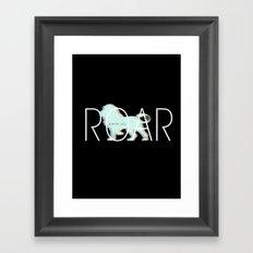 lion lion Framed Art Print