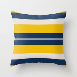 Pearl Corn Zodiac Stripes Throw Pillow