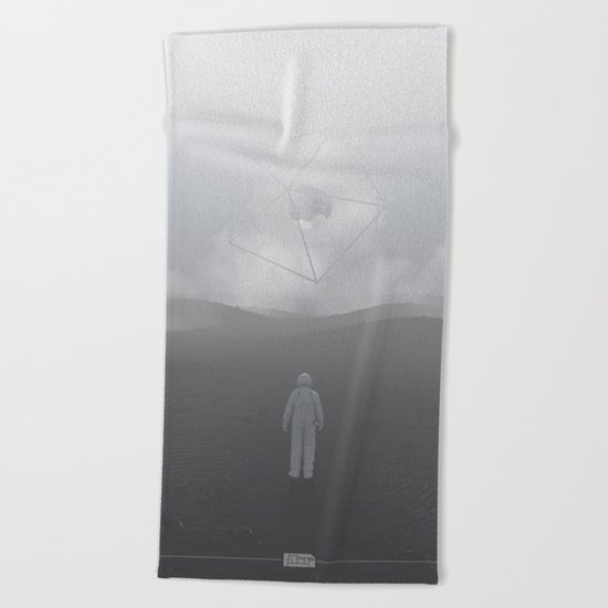 Lost Astronaut Series #04 - Icosa/Bucky Beach Towel