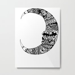 Fly me to the moon and back  Metal Print