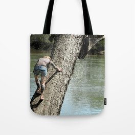 The climb revisited Tote Bag