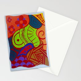 Red through your eyes Stationery Cards