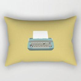 Just My Type Rectangular Pillow