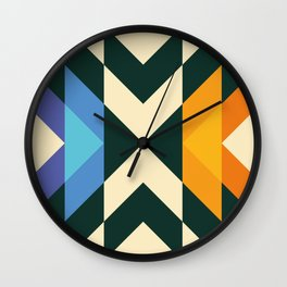concentric split Wall Clock