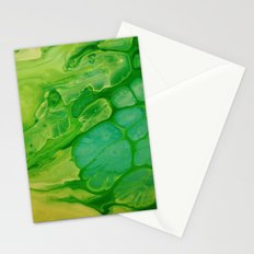 The green lakes Stationery Cards