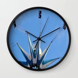 Tower Of Thrills III Wall Clock