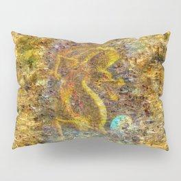Golden Dragon Pillow Sham