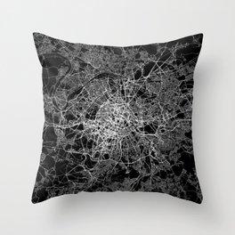 Paris map #2 Throw Pillow