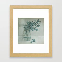 SomethingBlue Framed Art Print