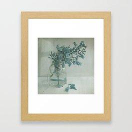 SomethingBlue Framed Art Print