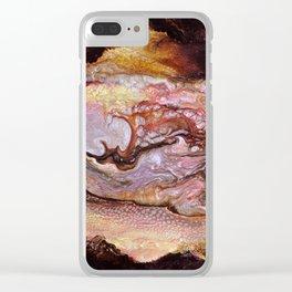 Le serpent des ténèbres Clear iPhone Case