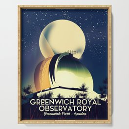 Royal Observatory Greenwich London Serving Tray