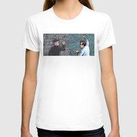 pacific rim T-shirts featuring PACIFIC RIM - Blackboard Buds by Kristal Babich