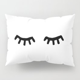 Tired Eyes Pillow Sham